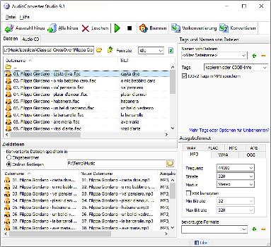 convert .cda files to flac